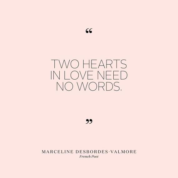 love quotes marceline desbordes valmore 0715jpg - Short Love Quotes