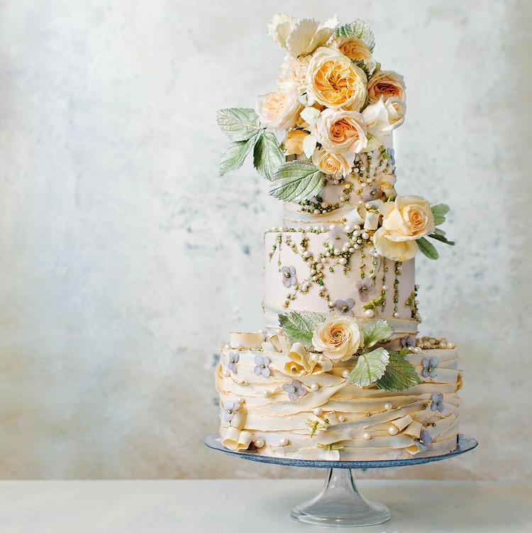 Gorgeous Floral Wedding Cakes By Maggie Austin Martha