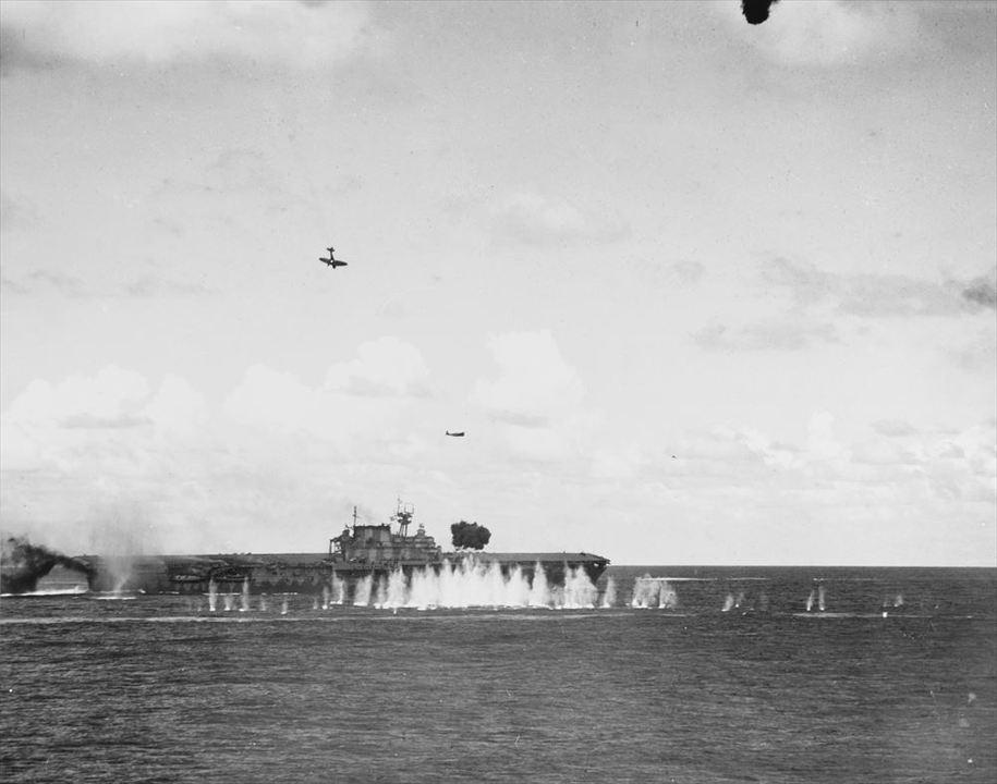魚雷の神とともに沈んだ米空母ホーネット見つかる。伝説の日本本土初空襲の空母