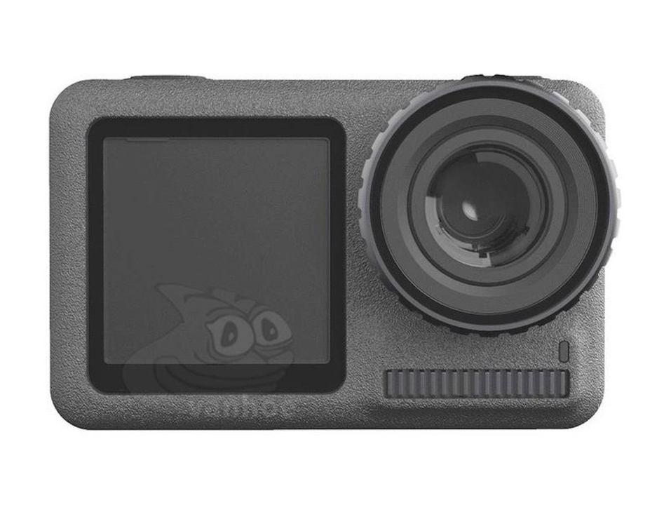 これがDJIの新アクションカメラ? 前面モニターに期待!