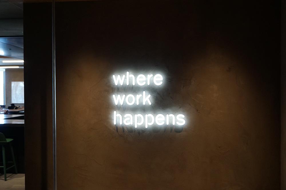 Where work happens