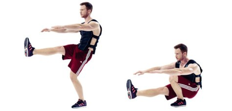 Image result for weighted vest exercises
