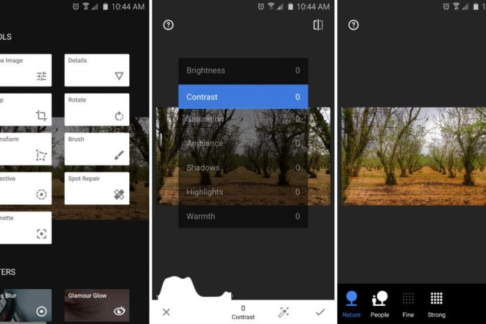Snapseed, una aplicación para editar tus fotos   Metro Ecuador