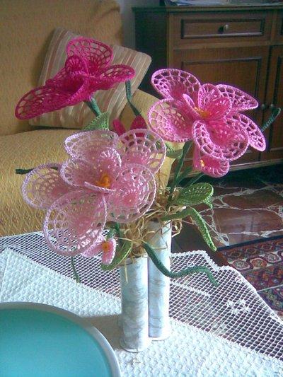 Vaso Con Fiori All Uncinetto Per La Casa E Per Te Decorare Casa Su Misshobby