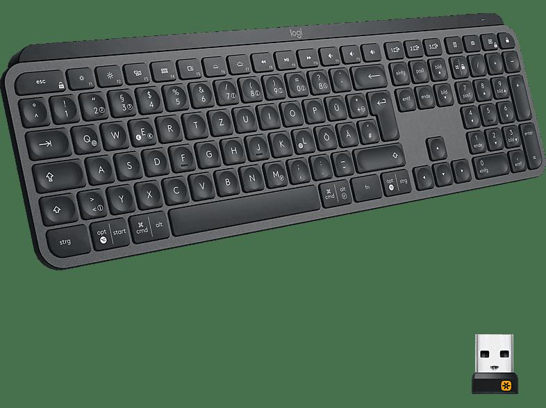 logitech mx keys advanced tastatur tastatur mediamarkt