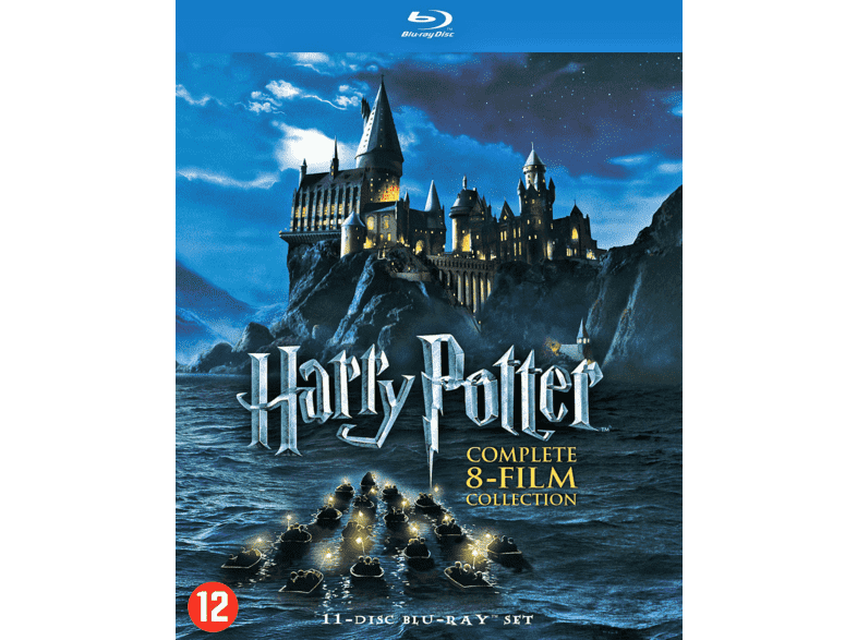 harry potter collection 1 8 blu ray