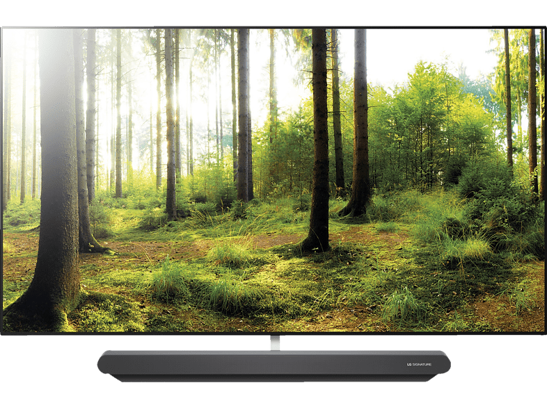 Oled Tv Lg Signature Oled65g8pla Oled Tv Flat 65 Zoll 164 Cm Uhd 4k Smart Tv Webos 4 0 Ai Thinq Mediamarkt