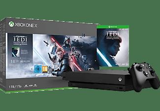 Microsoft Xbox One X 1tb Star Wars Jedi Fallen Order Bundle Online Kaufen Saturn
