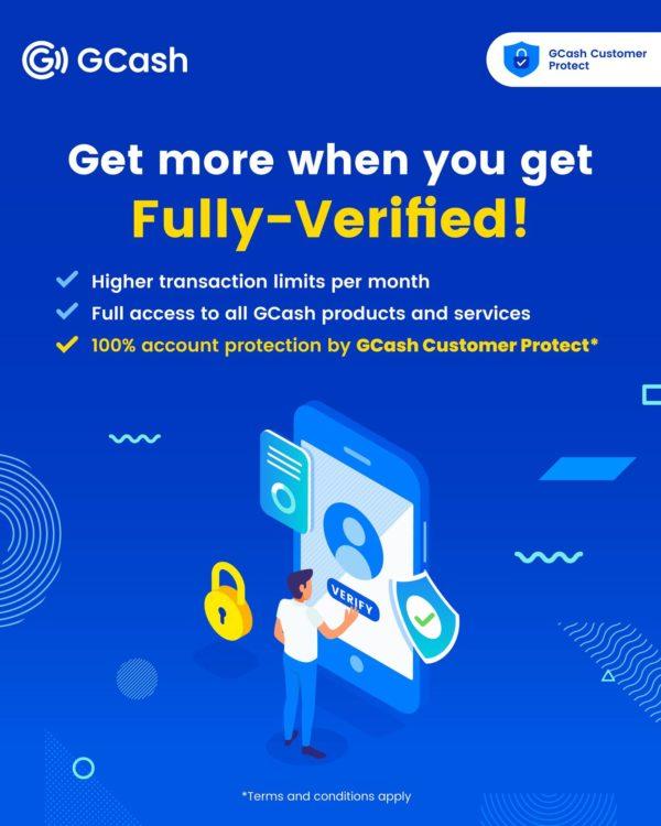 GCash App - GCash Verification