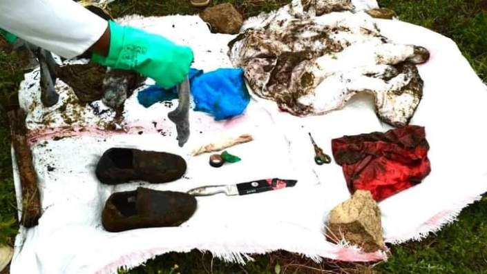Photos of the murder weapons used by son in gruesome Kiambu murder