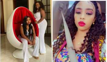 Life with the Mbuvis! Saumu, Salma and Sandra take fans into Miko Sonko's home