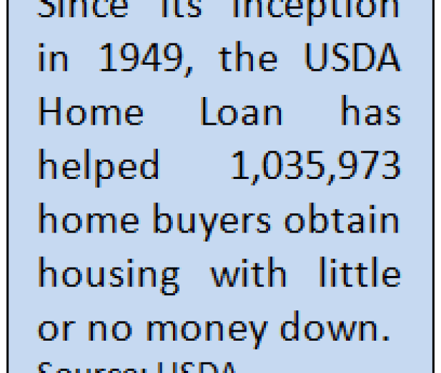 Usda Home Loan Statistics