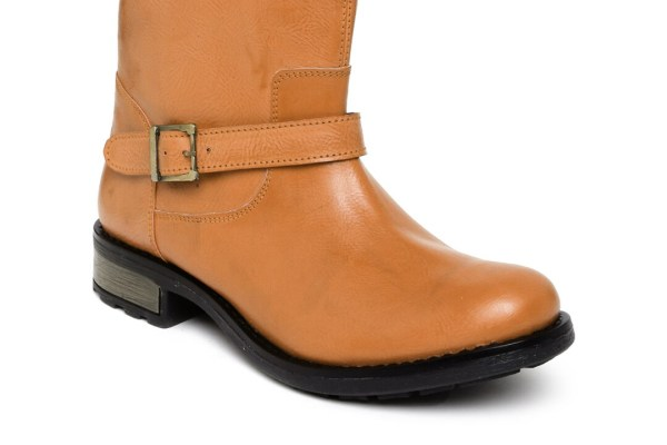 Arden by Knotty Derby Women Tan Brown Boots