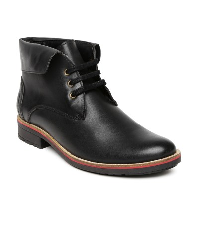 Roadster Men Black Boots