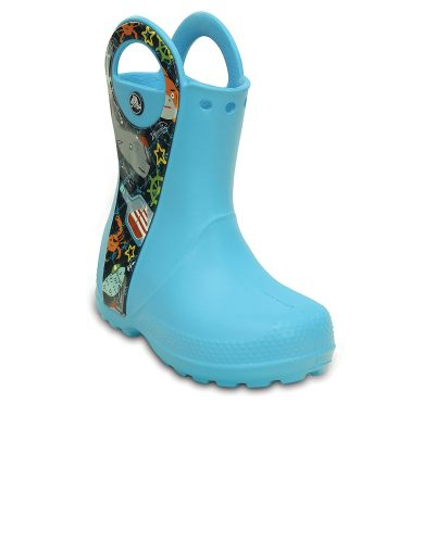 Crocs Boys Blue Boots