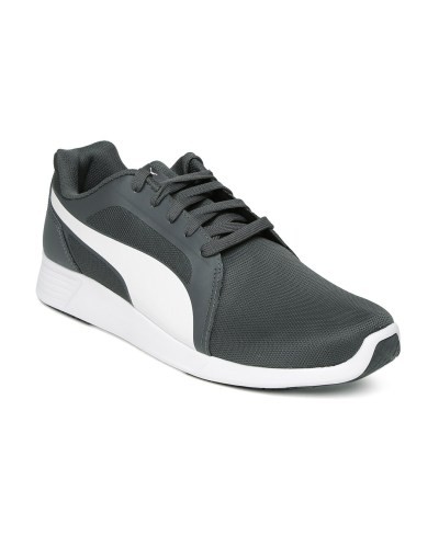 PUMA Men Grey Evo Trainers