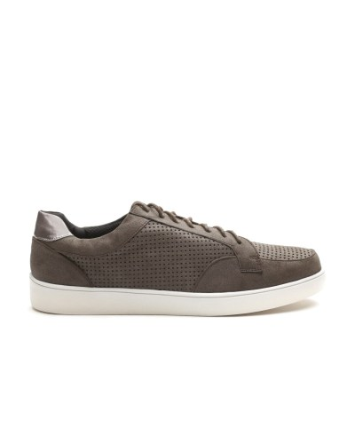 Carlton London Men Brown Solid Sneakers