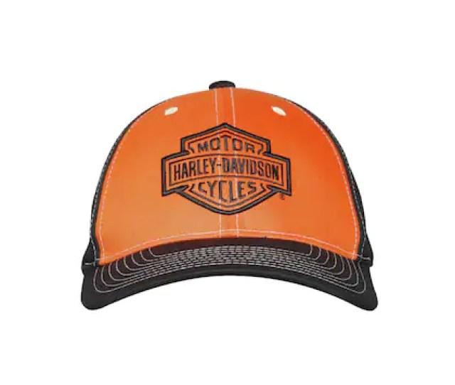 Harley Davidson Men Colourblocked Baseball Cap