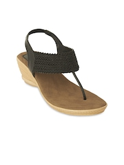 Lords Women Black Sandals