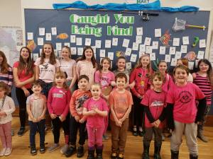 Peterborough School encourages students to write tickets for acts of kindness