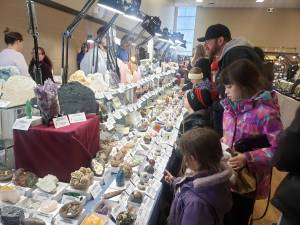Peterborough Gem, Mineral and Fossil Show draws collectors of all ages