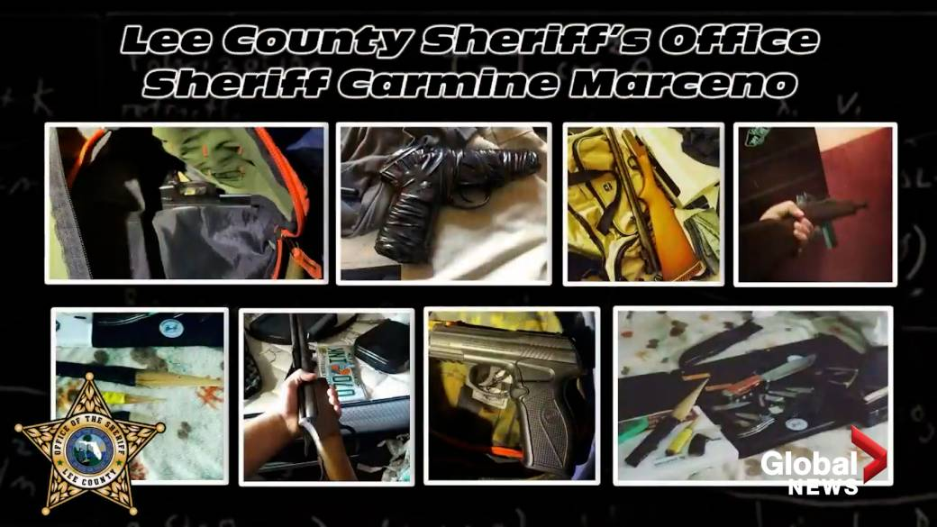 'Florida Police complaint  2 minors with conspiracy to perpetrate  a wide    shooting'