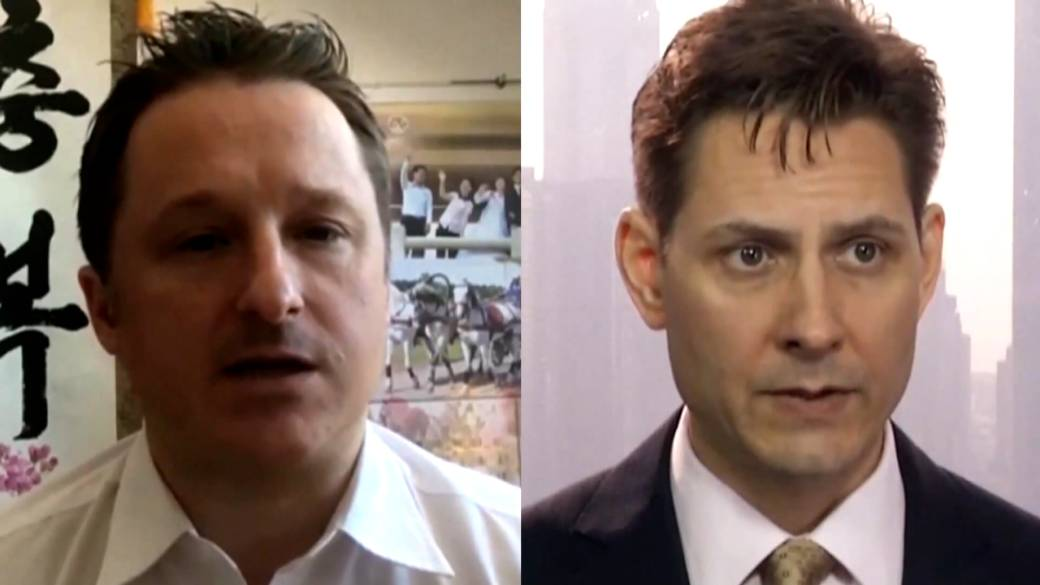 Click to play video: 'Michael Kovrig, Michael Spavor arrive in Canada after almost 3 years in Chinese prison'