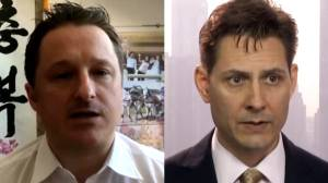 Michael Kovrig, Michael Spavor arrive in Canada after almost 3 years in Chinese prison (01:51)