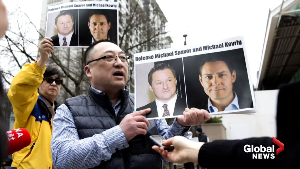Click to play video: 'Ottawa pressured to help Canadians detained in China'