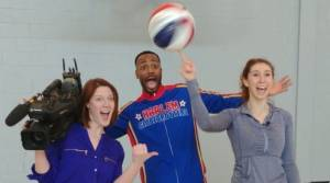 Harlem Globetrotters in Peterbough on April 2nd