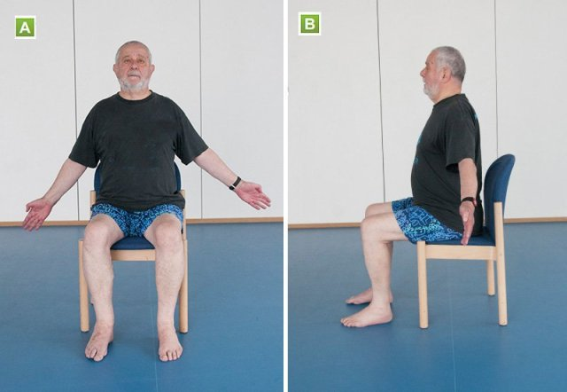 Chest stretch