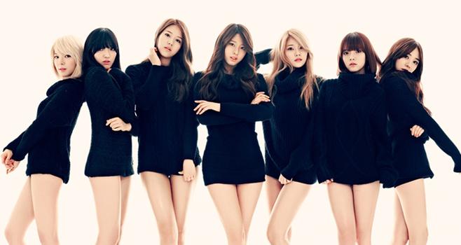 Choa, Youkyung, Chanmi, Seolhyun, Hyejeong, Yuna, Jimin, Mina