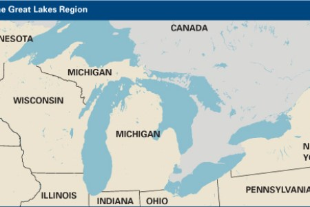 Full Image Wallpapers » map of the great lakes states | HD Images