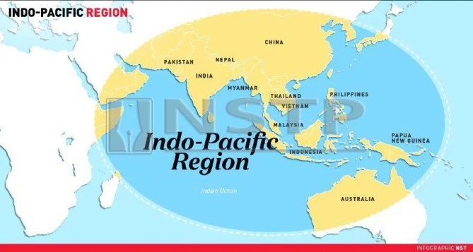 Image result for trump with indian & pacific strategy