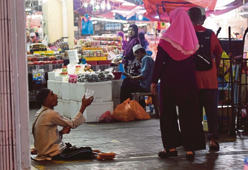 Image result for beggars in malaysia