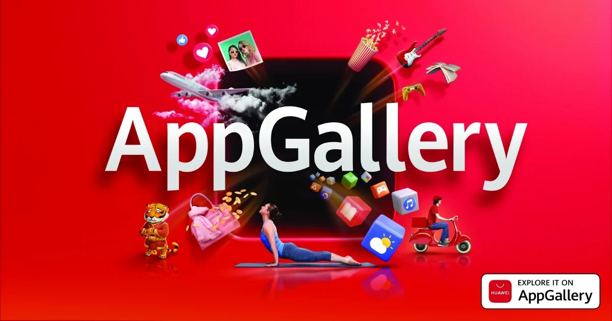 HUAWEI AppGallery offers more to customers