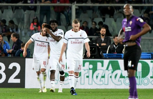 Image result for photos of fiorentina vs milan