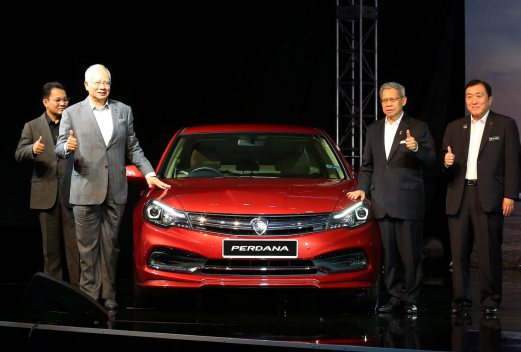 Image result for Najib Razak and Proton