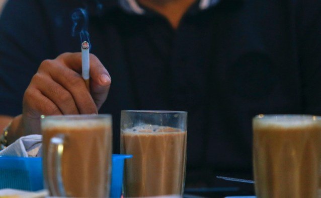 Image result for smoking at mamak
