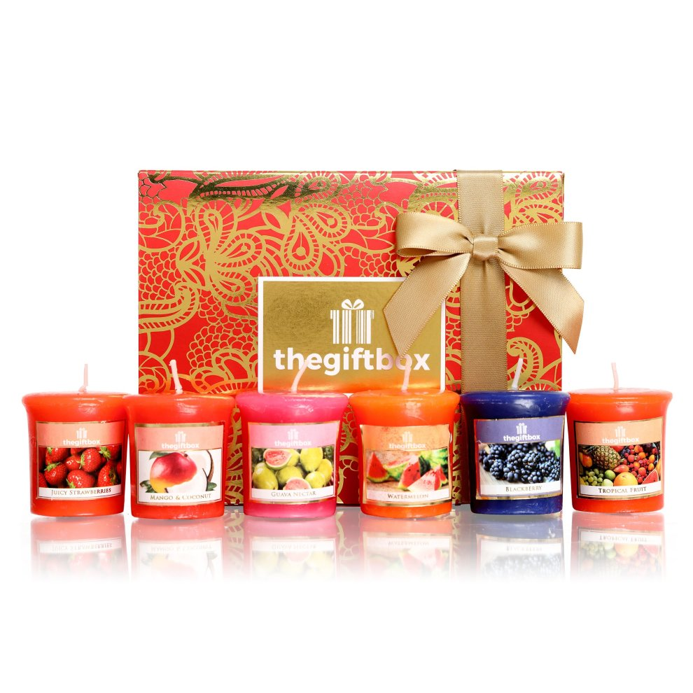 Scented Candle Gift Set With 6 X Candles Perfect For Christmas Scented Candles Make Ultimate Gifts For Women Great Gifts For Her For Women On Onbuy