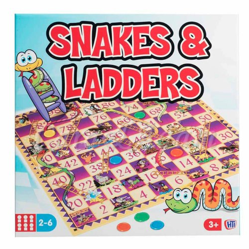 Snakes And Ladders Board Game Fun Kids Play Traditional Children Family Game Game On Onbuy