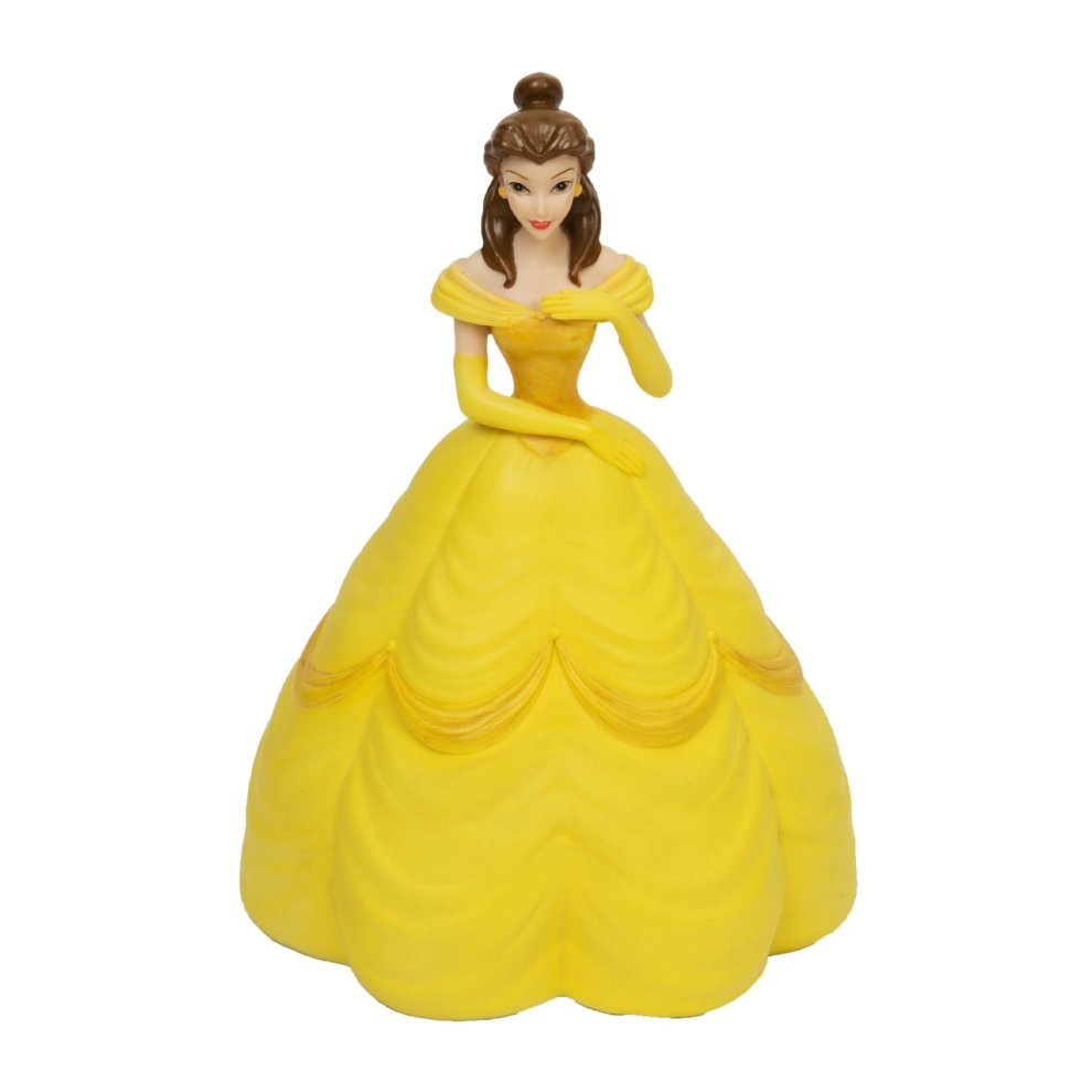 Disney Princess Belle Hand Painted Money Box On Onbuy