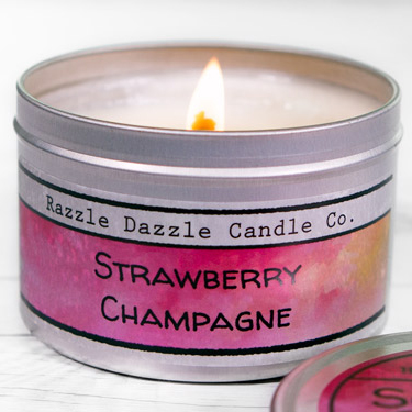 Metal Tin Container Labels For Candles Mints Lip Balm More