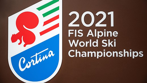 Logo der Ski-WM in Cortina