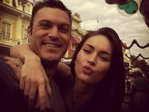 Brian Austin Green e Megan Fox em foto publicada no Instagram (Reprodução)