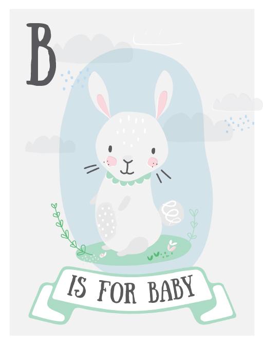 baby shower invites customise print
