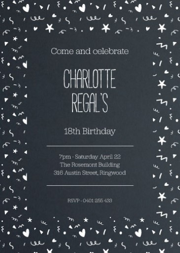funny birthday invitations designs by