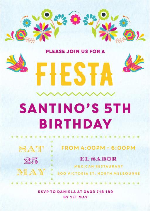 6th birthday invitations designs by