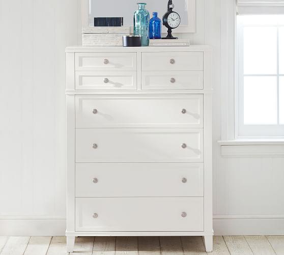 clara 6 drawer tall dresser
