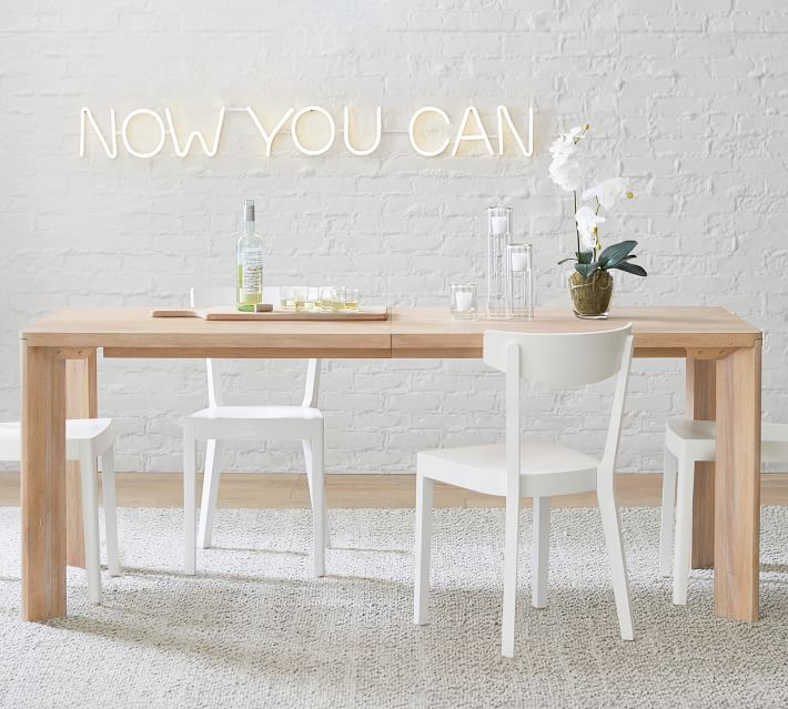 Dakota Extending Dining Table Pottery Barn